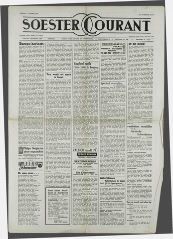 Soester Courant 1954-10-08