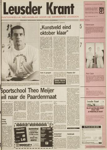 Leusder Krant 1993-08-04