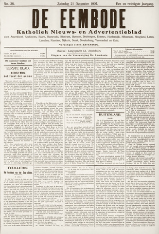 De Eembode 1907-12-21