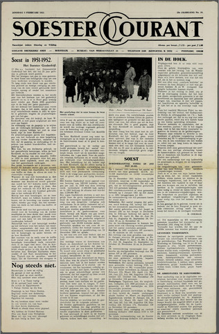 Soester Courant 1952-02-05