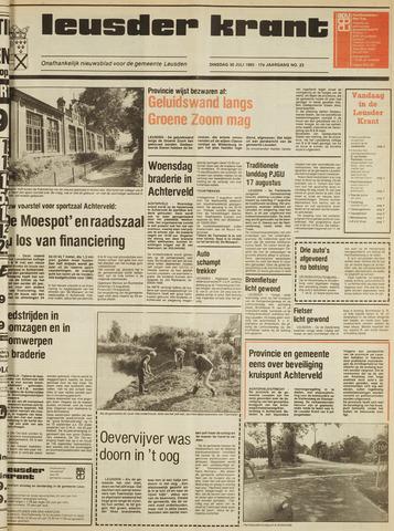 Leusder Krant 1985-07-30