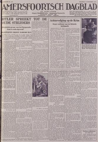 Amersfoortsch Dagblad / De Eemlander 1941-11-10