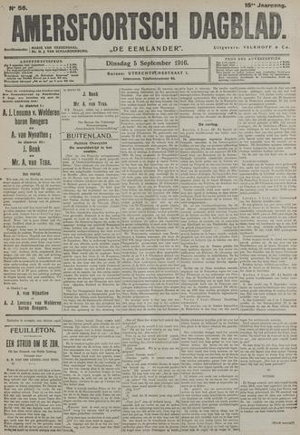 Amersfoortsch Dagblad / De Eemlander 1916-09-05