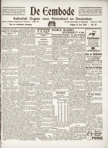 De Eembode 1930-01-31