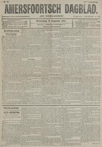Amersfoortsch Dagblad / De Eemlander 1914-08-12