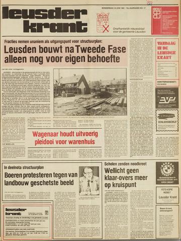 Leusder Krant 1981-06-18