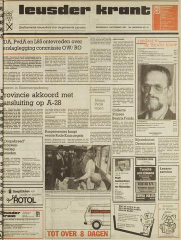 Leusder Krant 1987-09-03