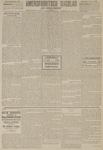 Amersfoortsch Dagblad / De Eemlander 1923-03-07