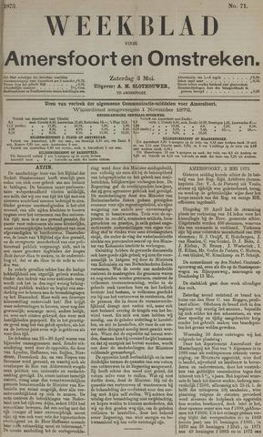Weekblad voor Amersfoort en Omstreken 1873-05-03