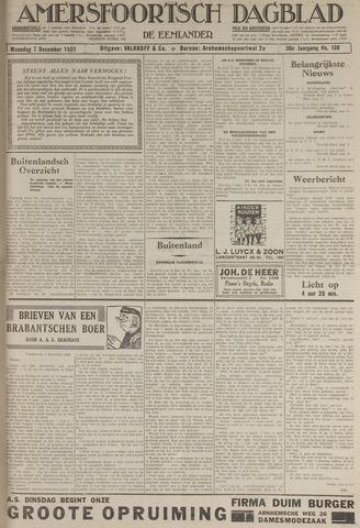 Amersfoortsch Dagblad / De Eemlander 1931-12-07