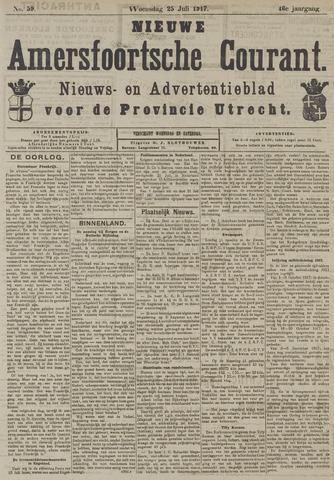 Nieuwe Amersfoortsche Courant 1917-07-25