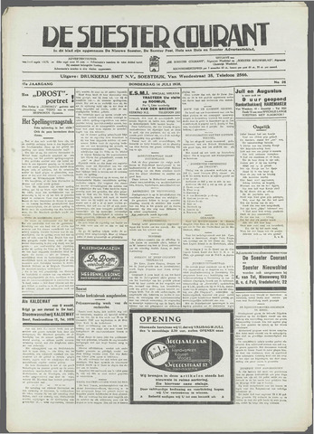 Soester Courant 1938-07-14