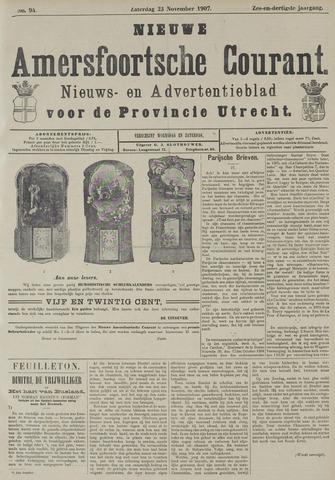 Nieuwe Amersfoortsche Courant 1907-11-23
