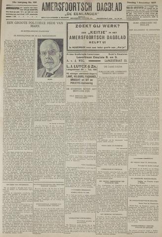 Amersfoortsch Dagblad / De Eemlander 1927-11-01