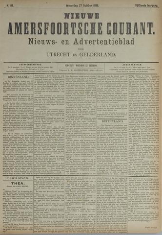 Nieuwe Amersfoortsche Courant 1886-10-27