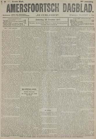 Amersfoortsch Dagblad / De Eemlander 1917-10-20