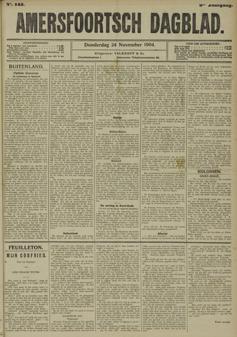 Amersfoortsch Dagblad 1904-11-24