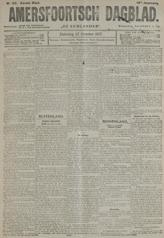 Amersfoortsch Dagblad / De Eemlander 1917-10-27