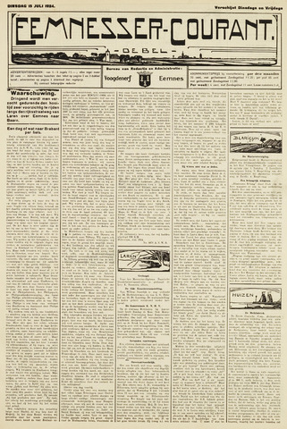 Eemnesser Courant 1924-07-15