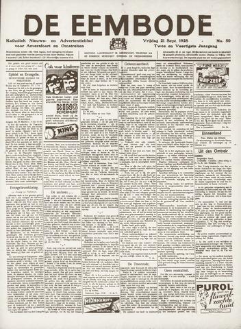 De Eembode 1928-09-21