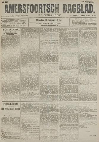 Amersfoortsch Dagblad / De Eemlander 1915-01-12