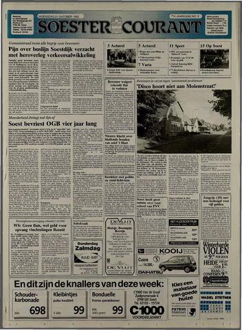 Soester Courant 1992-10-21