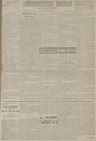 Amersfoortsch Dagblad / De Eemlander 1920-08-16