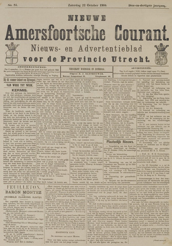 Nieuwe Amersfoortsche Courant 1904-10-22