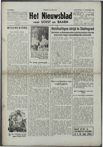 Soester Courant 1943-01-27