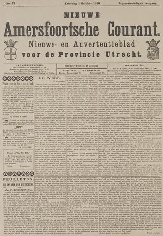 Nieuwe Amersfoortsche Courant 1910-10-01