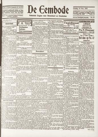 De Eembode 1935-02-19