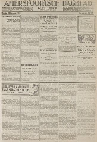 Amersfoortsch Dagblad / De Eemlander 1929-11-18