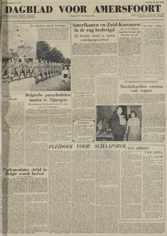 Dagblad voor Amersfoort 1950-07-25