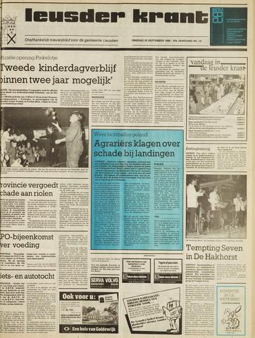 Leusder Krant 1988-09-20