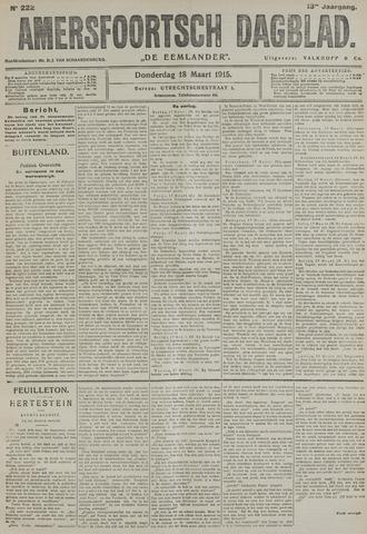 Amersfoortsch Dagblad / De Eemlander 1915-03-18
