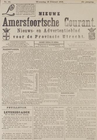 Nieuwe Amersfoortsche Courant 1916-02-16