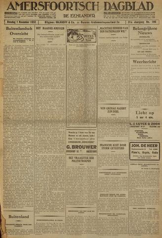Amersfoortsch Dagblad / De Eemlander 1932-11-01
