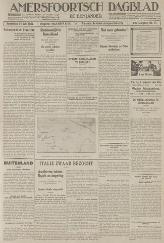 Amersfoortsch Dagblad / De Eemlander 1930-07-24
