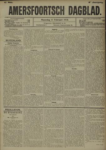 Amersfoortsch Dagblad 1908-02-17