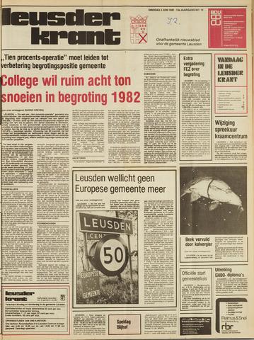 Leusder Krant 1981-06-02
