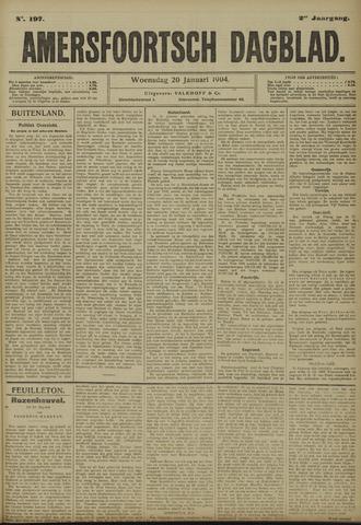 Amersfoortsch Dagblad 1904-01-20