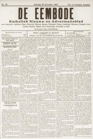De Eembode 1907-11-30