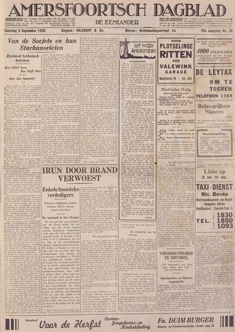 Amersfoortsch Dagblad / De Eemlander 1936-09-05