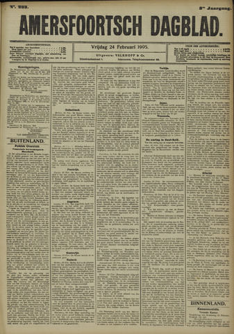 Amersfoortsch Dagblad 1905-02-24