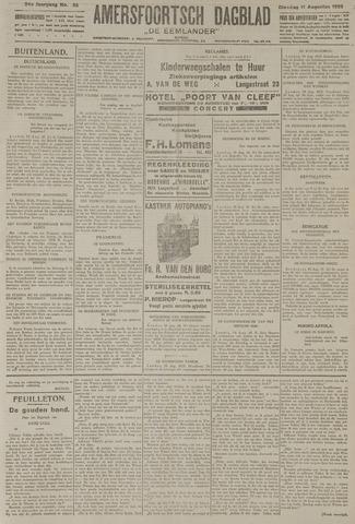 Amersfoortsch Dagblad / De Eemlander 1925-08-11
