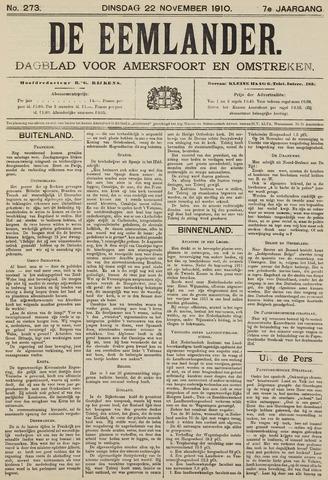 De Eemlander 1910-11-22
