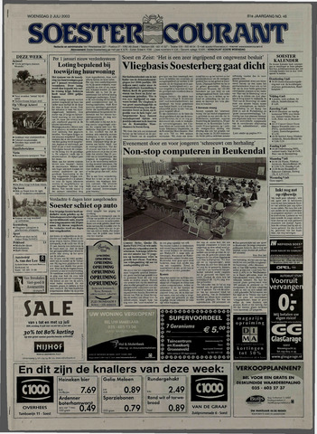 Soester Courant 2003-07-02