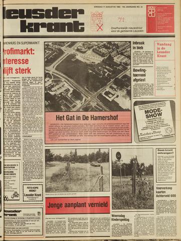 Leusder Krant 1982-08-17