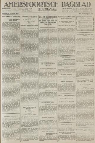 Amersfoortsch Dagblad / De Eemlander 1929-02-04