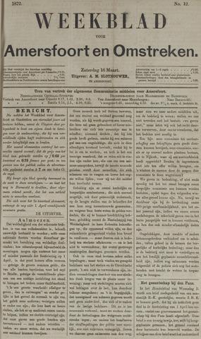 Weekblad voor Amersfoort en Omstreken 1872-03-16